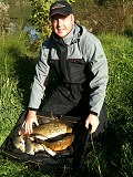 Adam Smith with his winning weight of 16lb 5oz