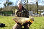 George Clark with a 15lb Century Common (click to enlarge). Photo by Jason Allen.
